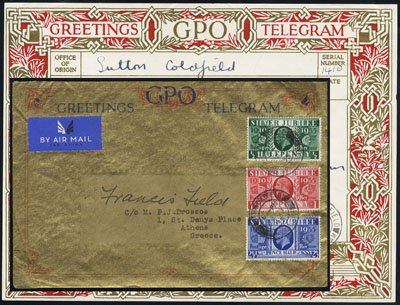 Cancel 1957 Jamboree Scout Sutton Coldfield To Germany To Have A Long Historical Standing Gb Postcard Boy Scouts Stamps