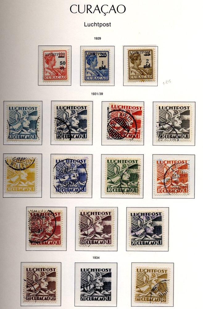Lot 1171 - netherlands colonies Antilles -  Corbitts Sale #160
