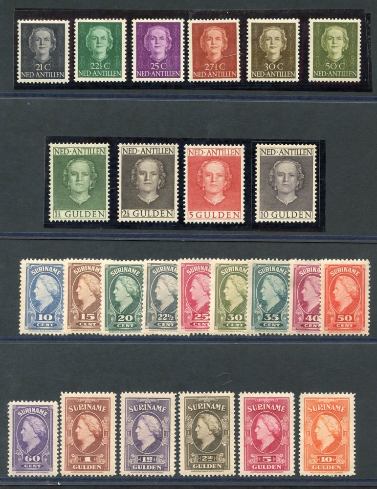 Lot 1172 - netherlands colonies Antilles -  Corbitts Sale #160