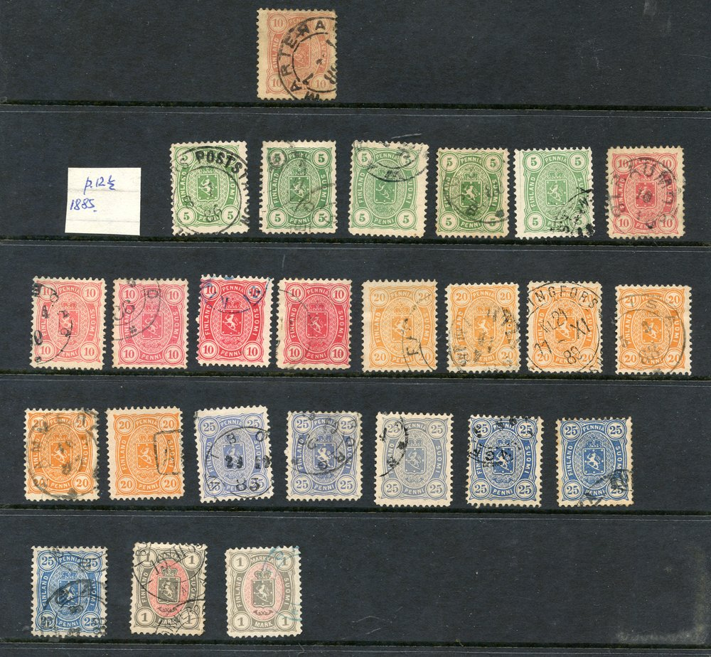 Lot 657 - World Stamps finland -  Corbitts Sale #161