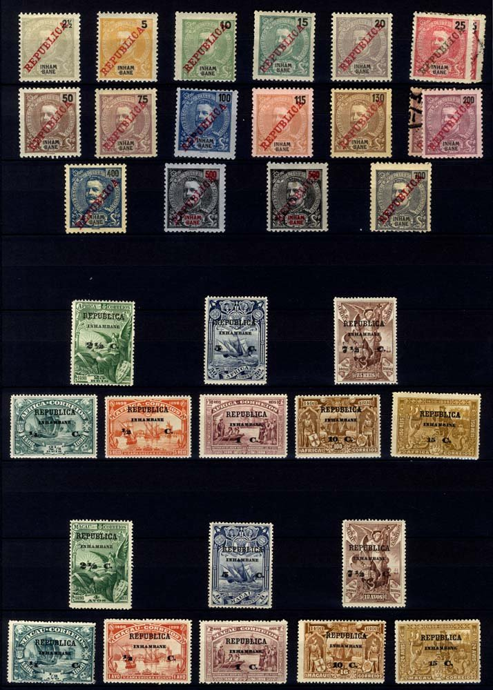 Lot 1236 - World Stamps portuguese colonies -  Corbitts Sale #161