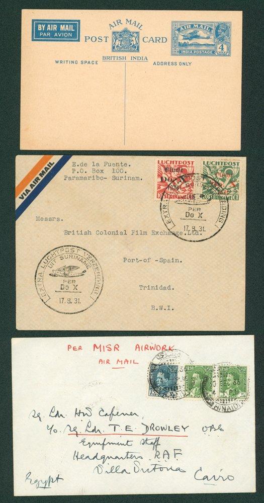 Lot 275 - world postal history world postal history -  Corbitts Sale #162