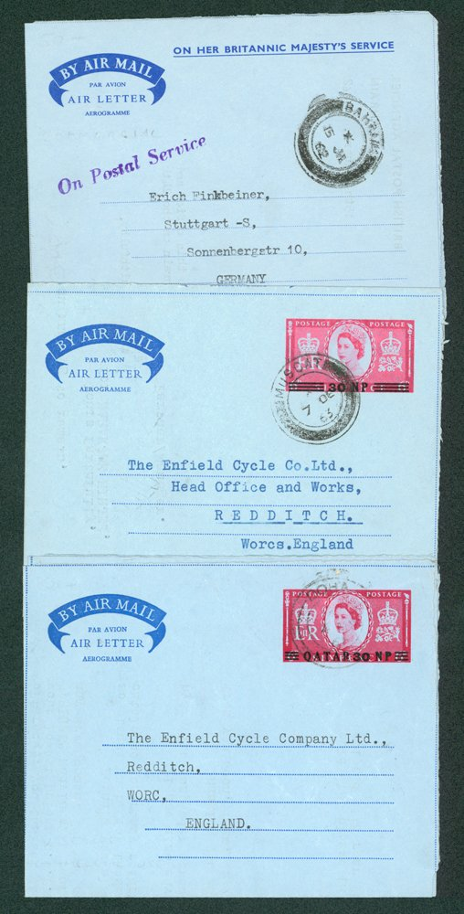 Lot 280 - world postal history world postal history -  Corbitts Sale #162