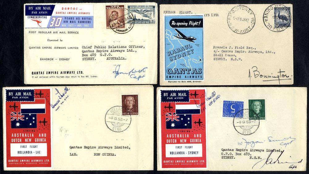Lot 283 - world postal history world postal history -  Corbitts Sale #162