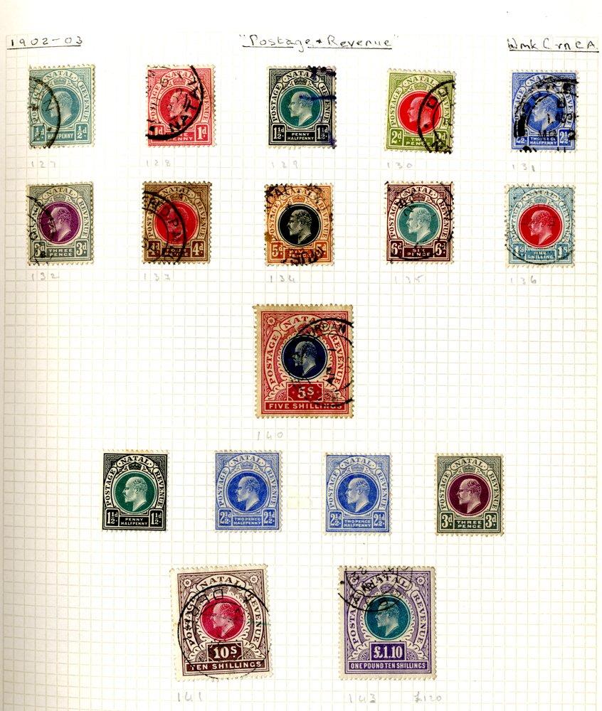 Lot 457 - World Stamps british africa -  Corbitts Sale #162