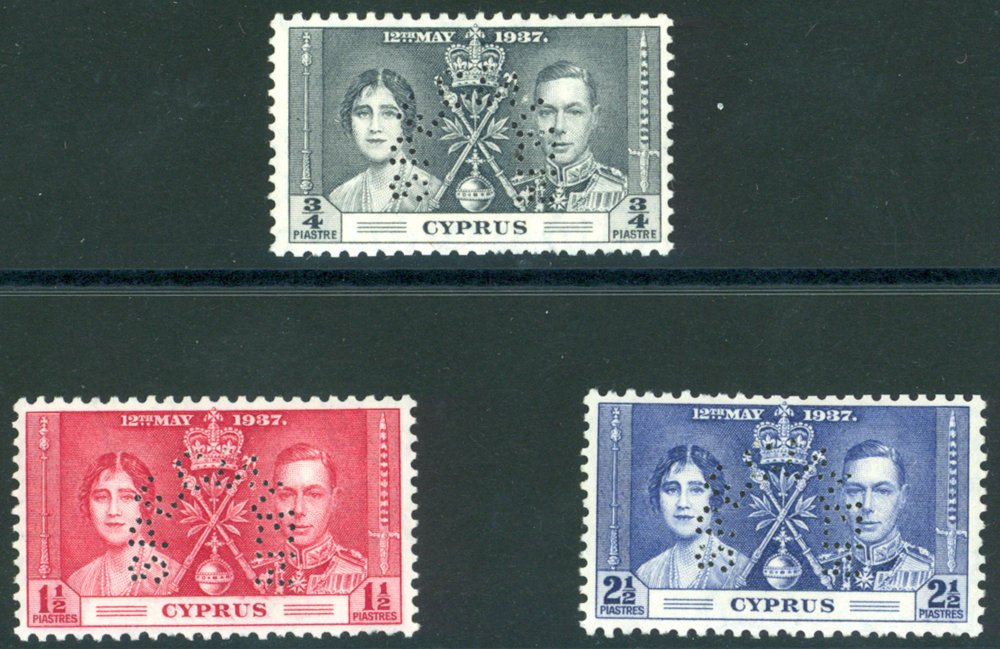 Lot 541 - World Stamps Cyprus -  Corbitts Sale #162