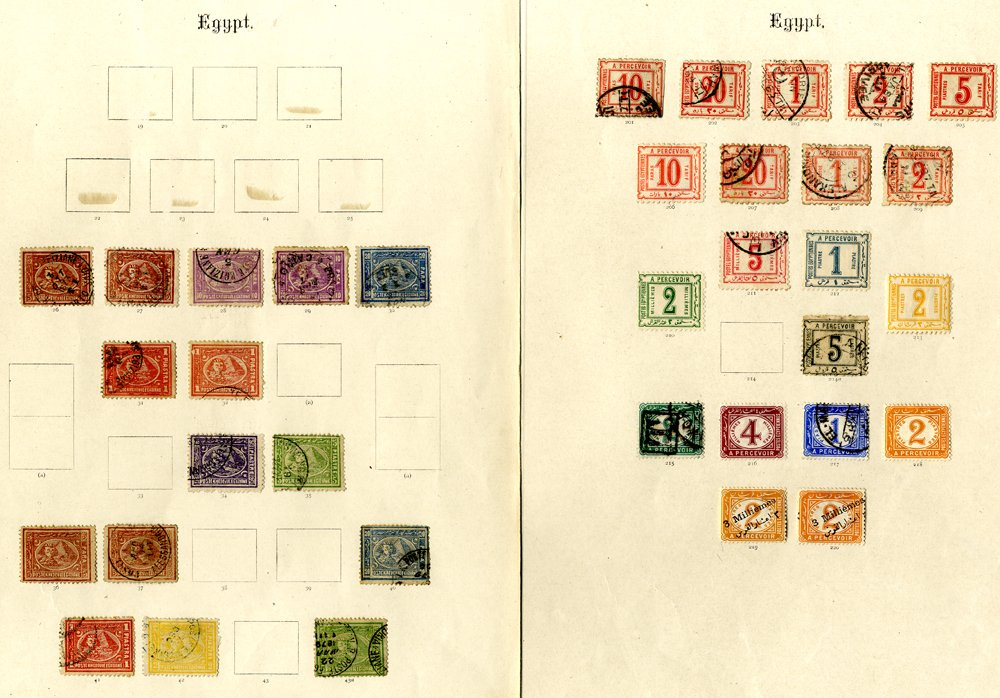 Lot 557 - World Stamps Egypt -  Corbitts Sale #162