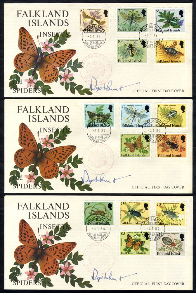Lot 621 - World Stamps falkland islands -  Corbitts Sale #162