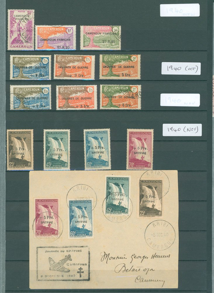 Lot 676 - World Stamps french colonies -  Corbitts Sale #162
