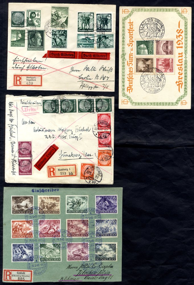 Lot 719 - World Stamps germany -  Corbitts Sale #162