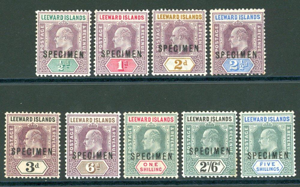 Lot 894 - World Stamps leeward islands -  Corbitts Sale #162