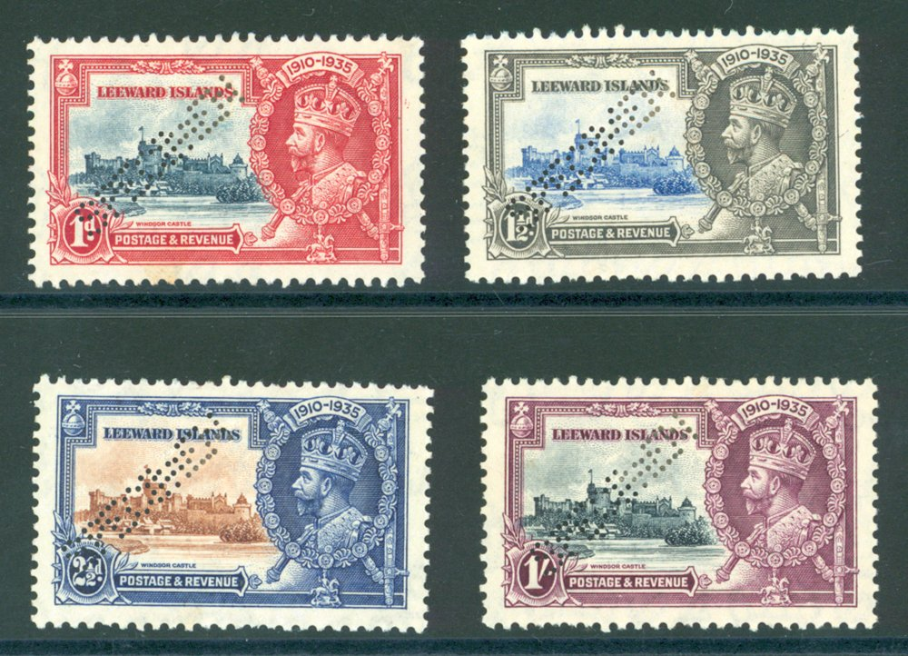 Lot 899 - World Stamps leeward islands -  Corbitts Sale #162
