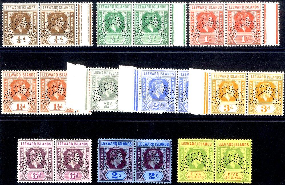 Lot 902 - World Stamps leeward islands -  Corbitts Sale #162