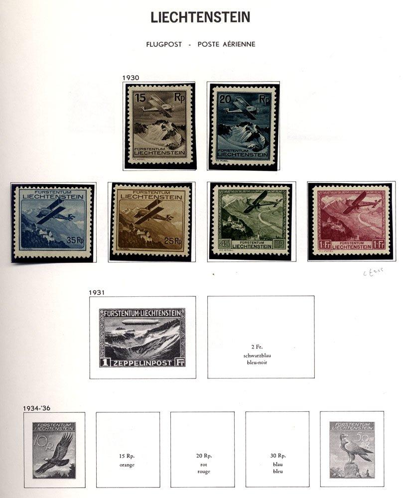 Lot 906 - World Stamps Liechtenstein -  Corbitts Sale #162