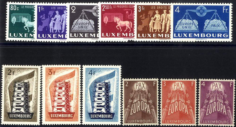 Lot 913 - World Stamps Luxembourg -  Corbitts Sale #162