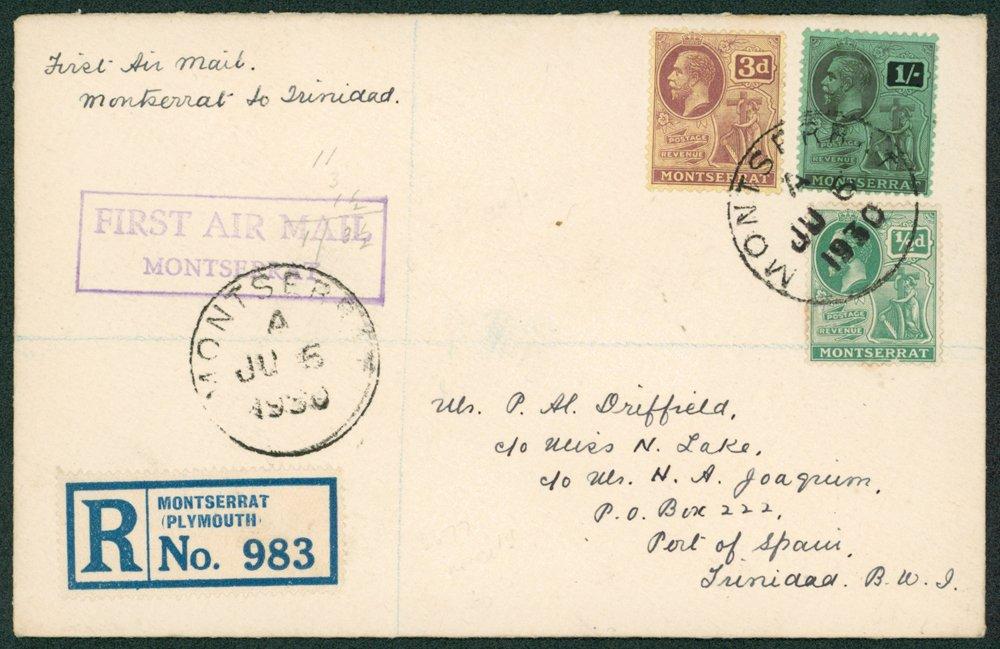 Lot 958 - World Stamps montserrat -  Corbitts Sale #162