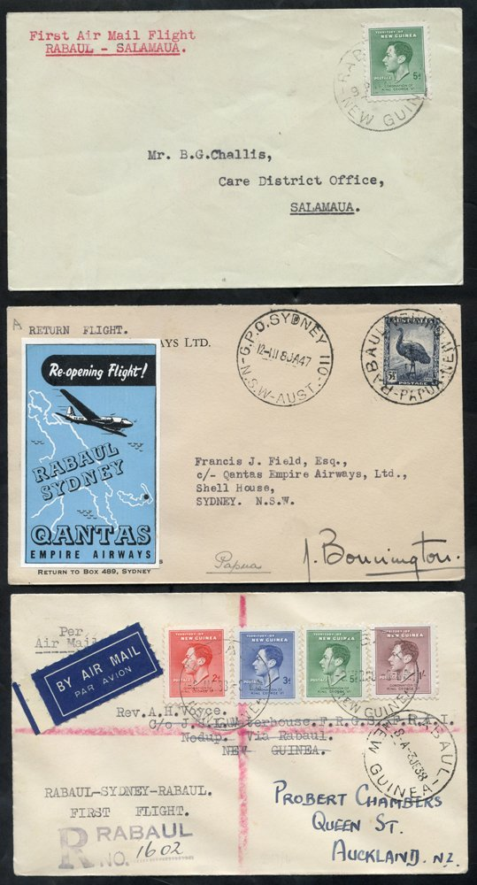 Lot 986 - World Stamps new guinea -  Corbitts Sale #162