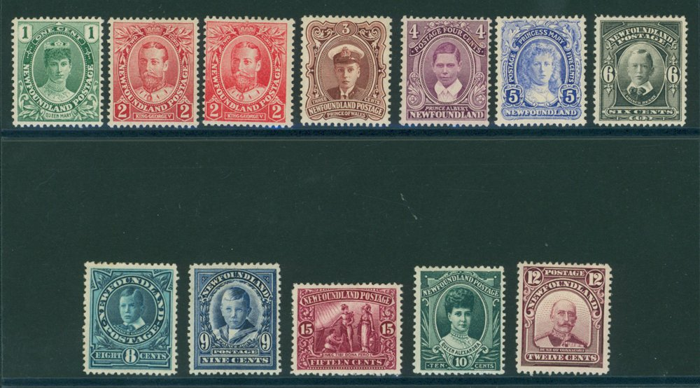 Lot 1018 - World Stamps Newfoundland -  Corbitts Sale #162
