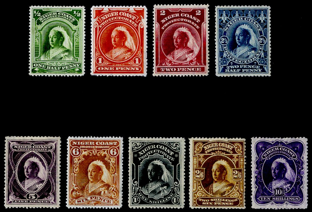 Lot 1027 - World Stamps niger coast protectorate -  Corbitts Sale #162
