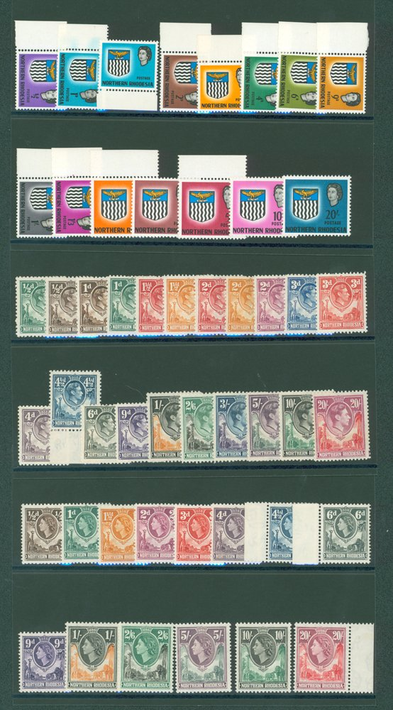 Lot 1036 - World Stamps northern rhodesia -  Corbitts Sale #162