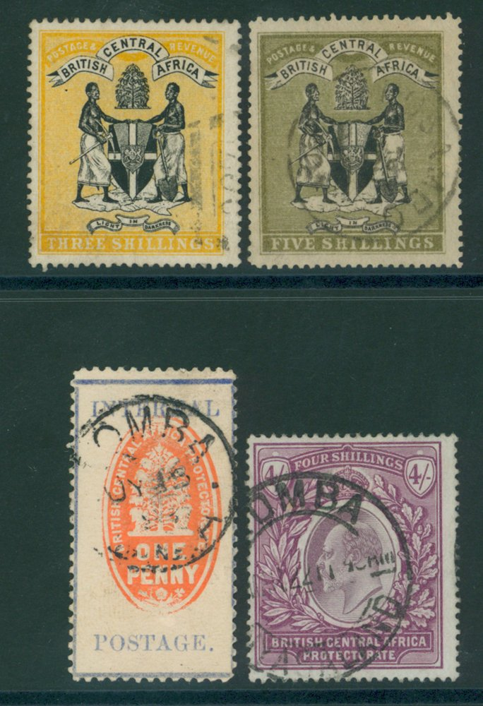 Lot 1044 - World Stamps nyasaland -  Corbitts Sale #162