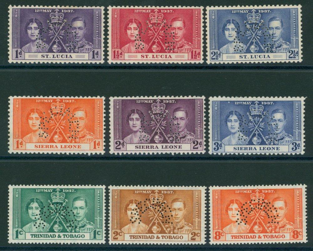 Lot 1128 - World Stamps sierra leone -  Corbitts Sale #162