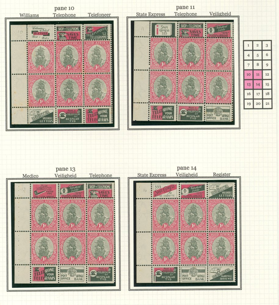 Lot 1137 - World Stamps south africa -  Corbitts Sale #162