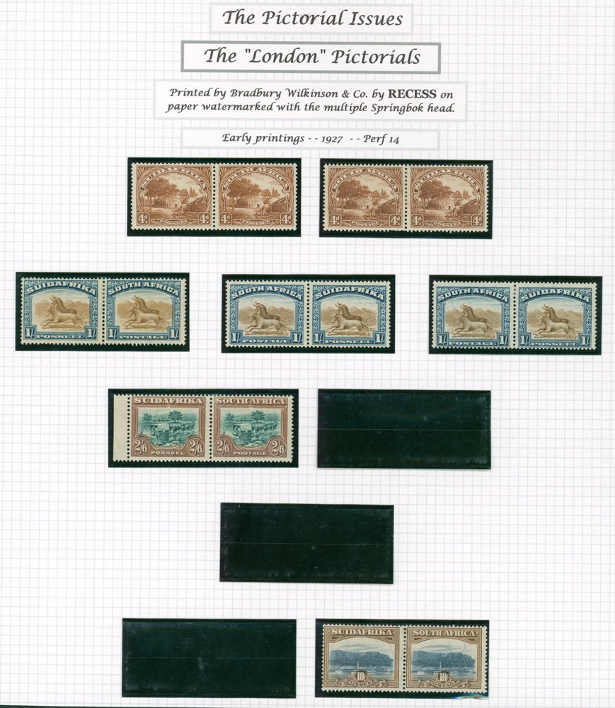 Lot 1140 - World Stamps south africa -  Corbitts Sale #162