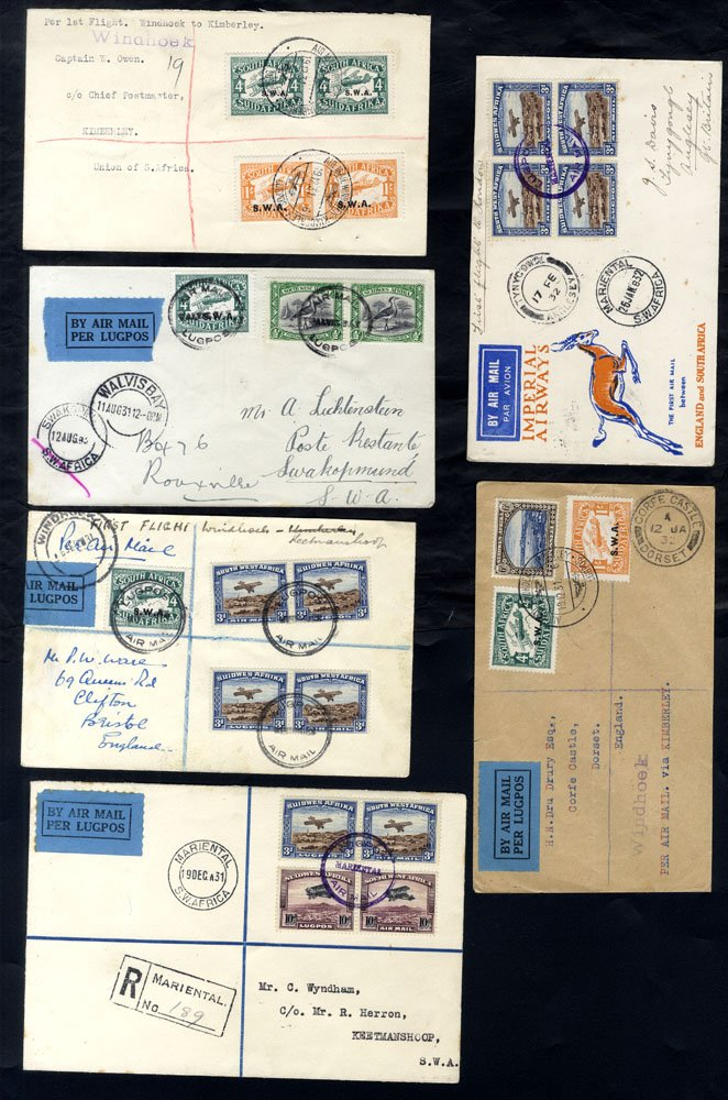 Lot 1142 - World Stamps south africa -  Corbitts Sale #162