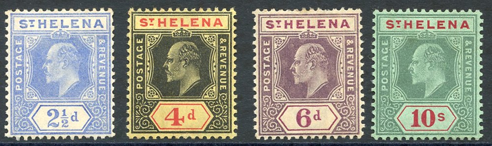 Lot 1159 - World Stamps st. helena -  Corbitts Sale #162