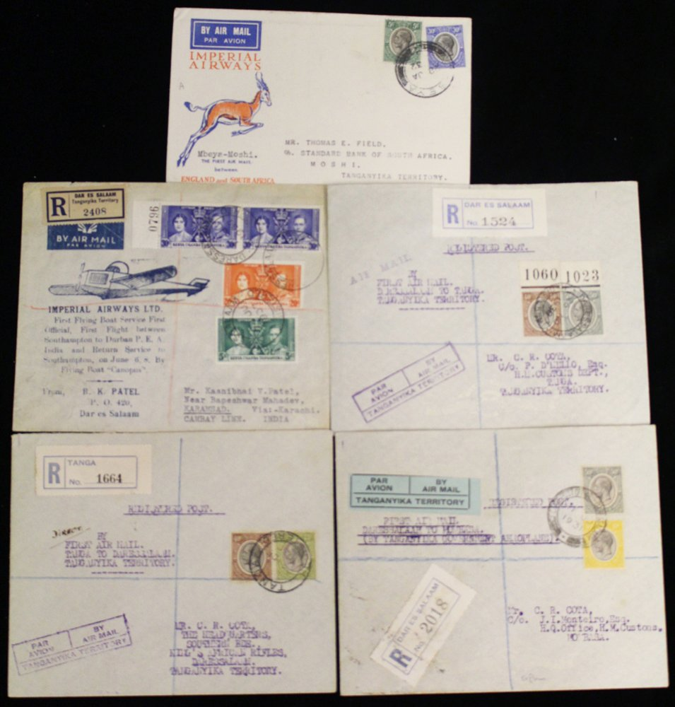 Lot 1249 - World Stamps tanganyika -  Corbitts Sale #162