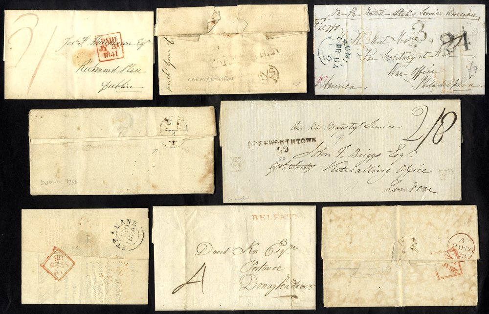 Lot 1352 - Great Britain postal history -  Corbitts Sale #162