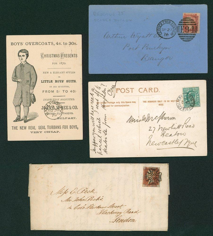 Lot 1367 - Great Britain postal history -  Corbitts Sale #162