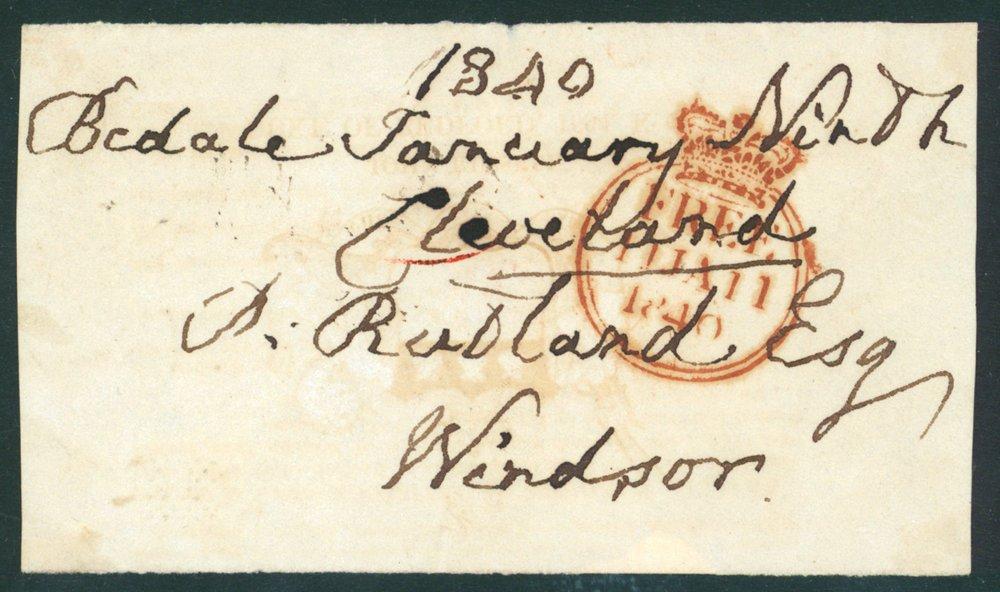 Lot 1380 - Great Britain postal history -  Corbitts Sale #162