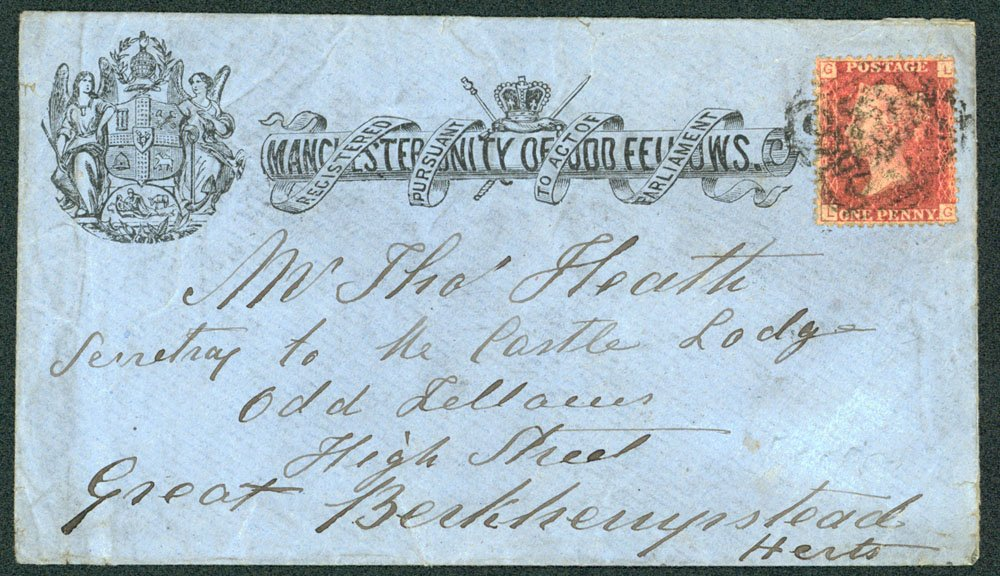 Lot 1420 - Great Britain postal history -  Corbitts Sale #162