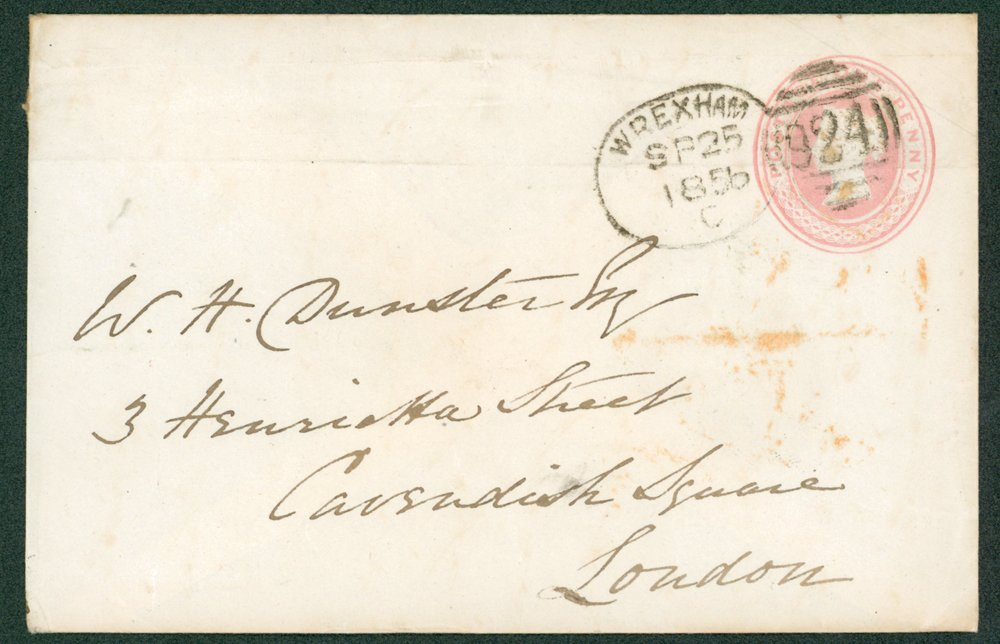 Lot 1429 - Great Britain postal history -  Corbitts Sale #162