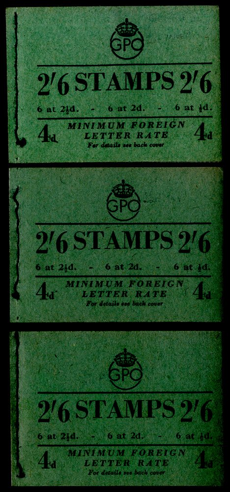 Lot 1725 - Great Britain stamp booklets -  Corbitts Sale #162