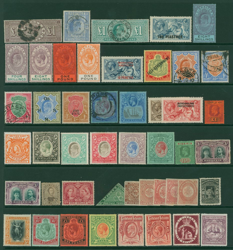 Lot 50 - MIXED LOTS & ACCUMULATIONS  -  Corbitts Sale #163 - Day 1