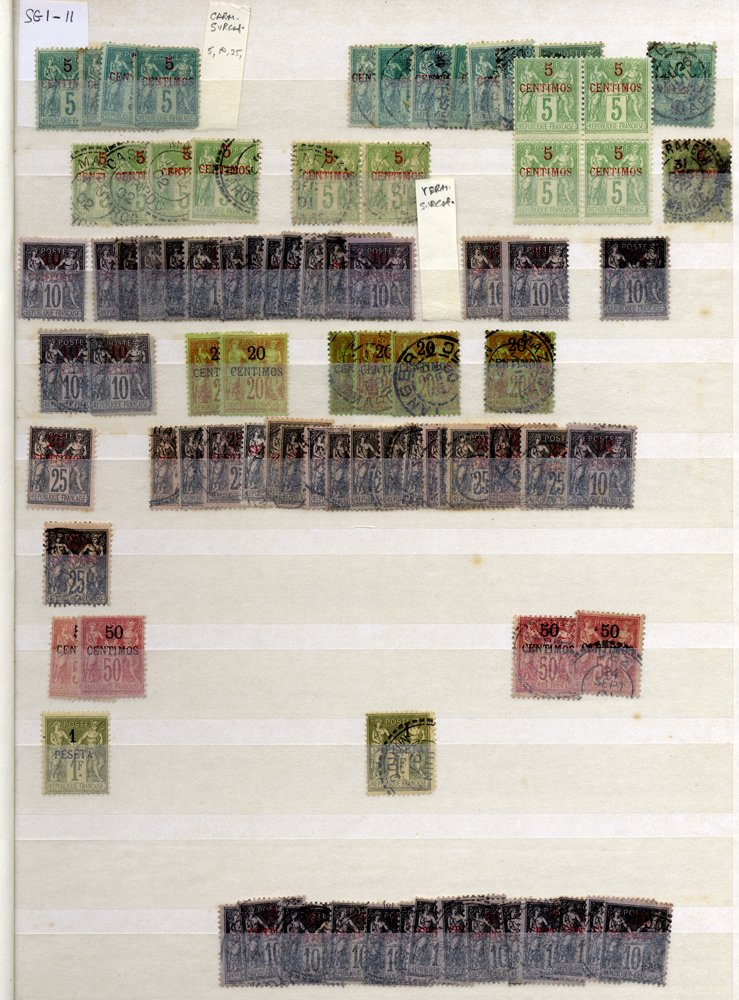 Lot 478 - french colonies  -  Corbitts Sale #163 - Day 1