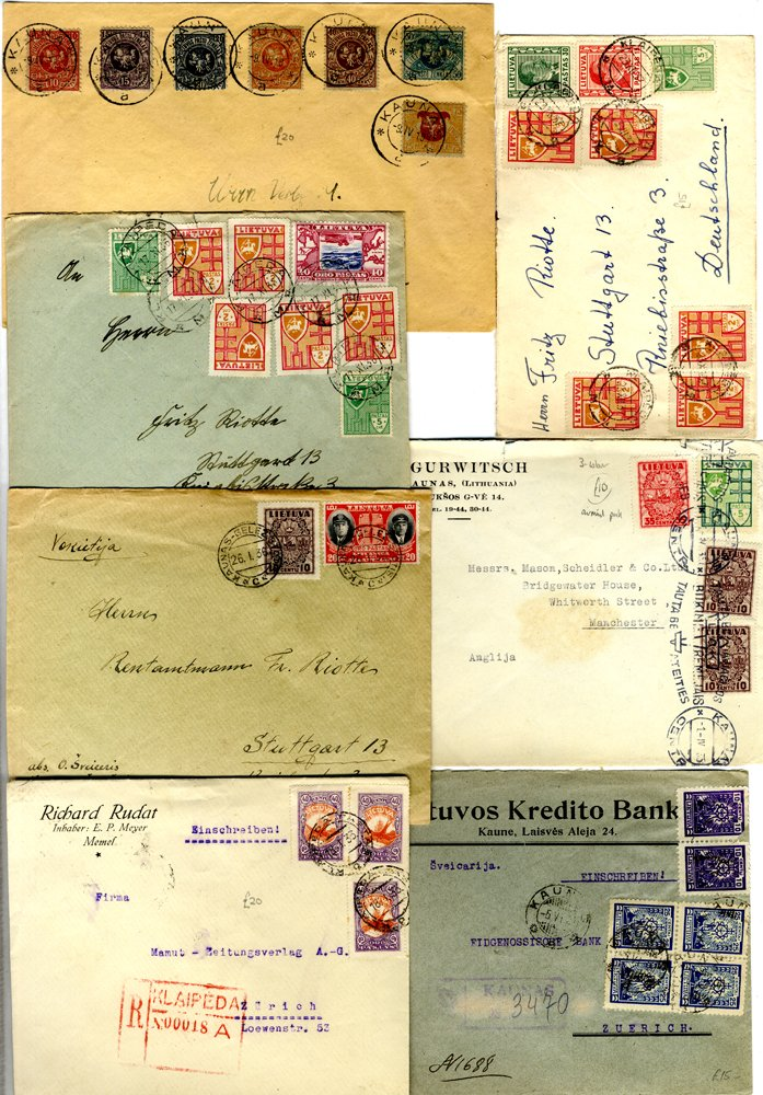 Lot 679 - Lithuania  -  Corbitts Sale #163 - Day 1