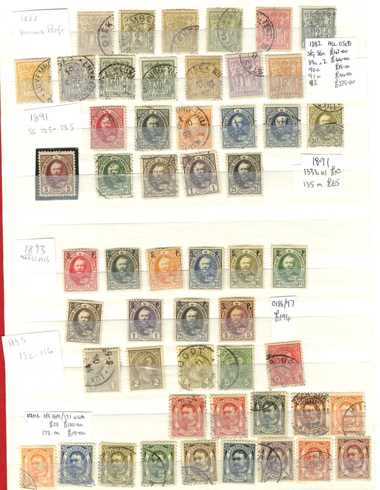 Lot 680 - Luxembourg  -  Corbitts Sale #163 - Day 1