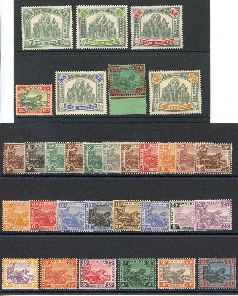 Lot 688 - malaya - federated states  -  Corbitts Sale #163 - Day 1