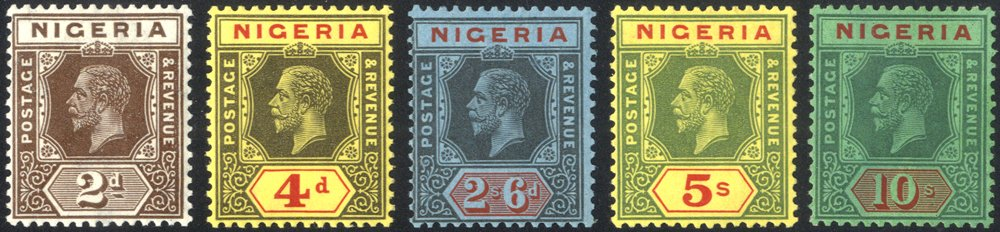 Lot 754 - nigeria  -  Corbitts Sale #163 - Day 1