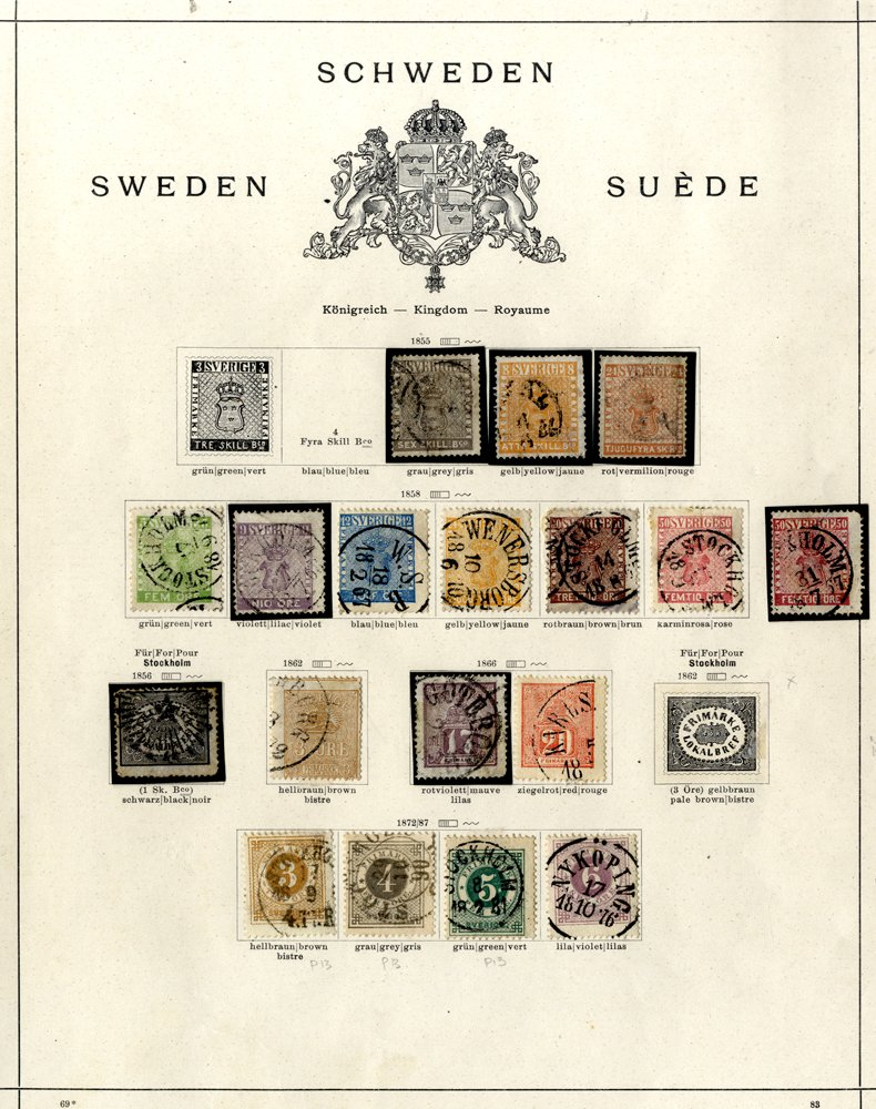 Lot 924 - Sweden  -  Corbitts Sale #163 - Day 1