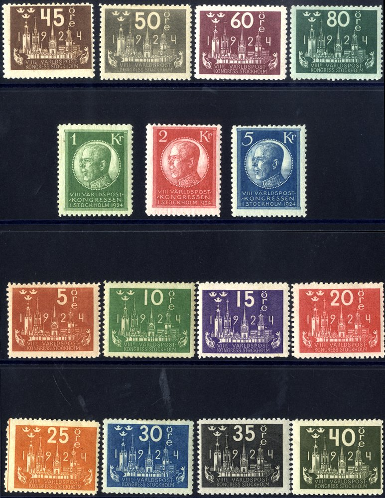 Lot 940 - Sweden  -  Corbitts Sale #163 - Day 1