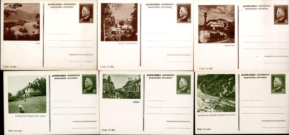 Lot 983 - Yugoslavia  -  Corbitts Sale #163 - Day 1