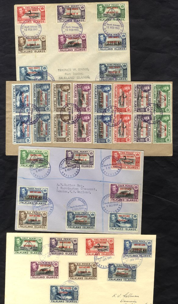 Lot 1345 - falkland islands dependencies  -  Corbitts Sale #163 - Day 2