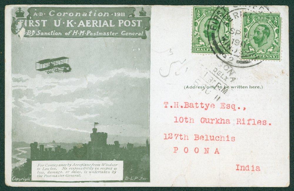 Lot 1595 - postal history  -  Corbitts Sale #163 - Day 2