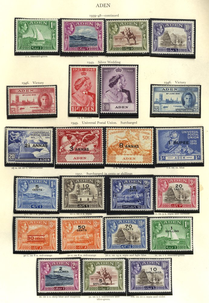 Lot 10 - MIXED LOTS & ACCUMULATIONS  -  Corbitts Sale #165