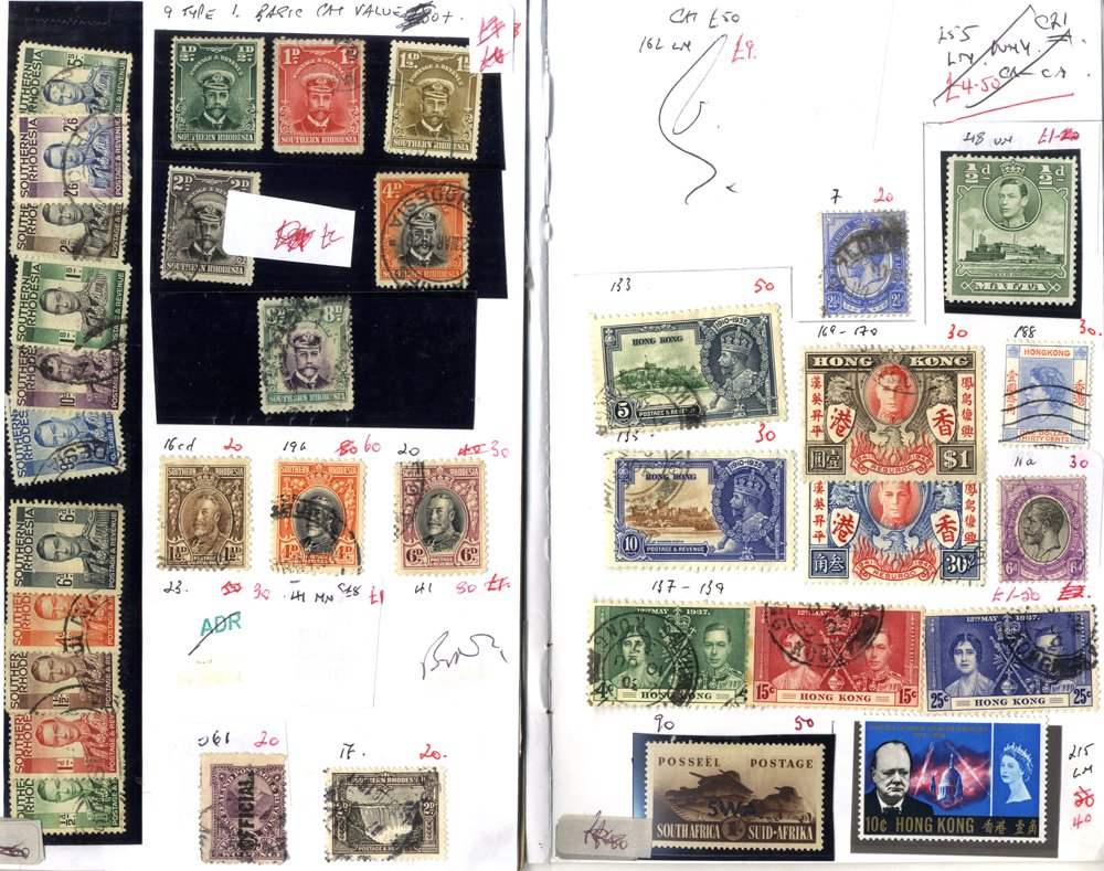 Lot 24 - MIXED LOTS & ACCUMULATIONS  -  Corbitts Sale #165